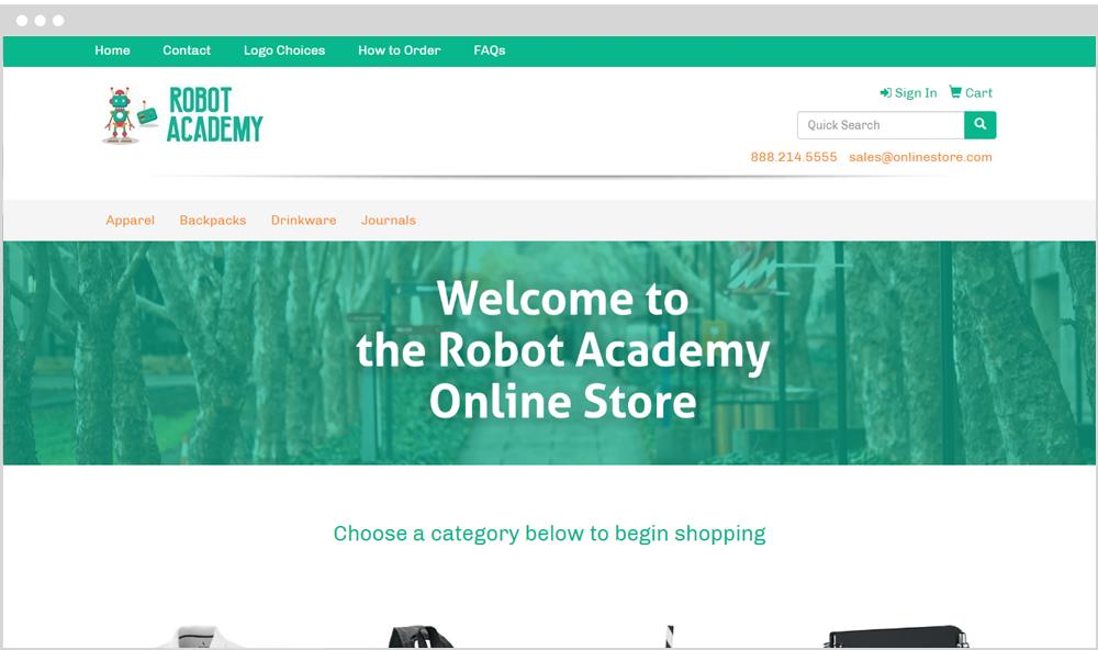 Schools Company Store Example